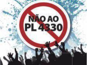 Não ao PL4330