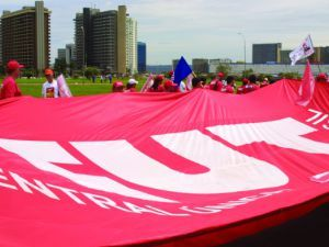 Bandeira da CUT