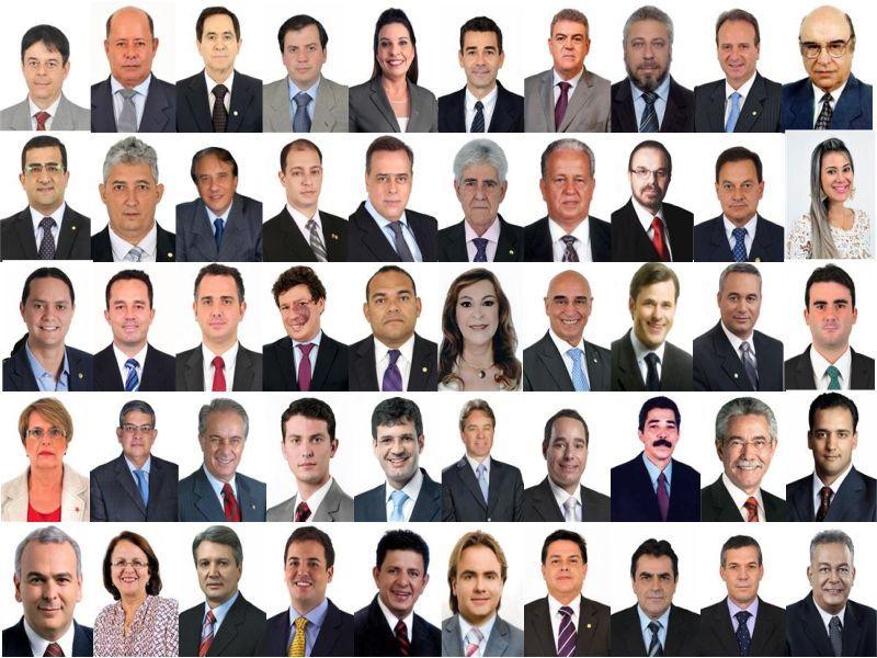 Deputados do Estado de Minas Gerais, em exercício na Câmara