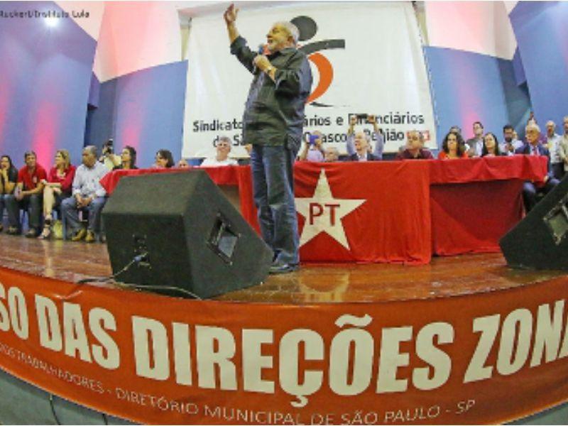 Lula disse que trabalhadores precisam se unir contra PL 4330