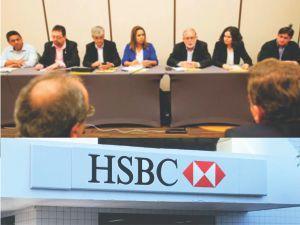 Reunião da Contraf-CUT federações e sindicatos com o HSBC.