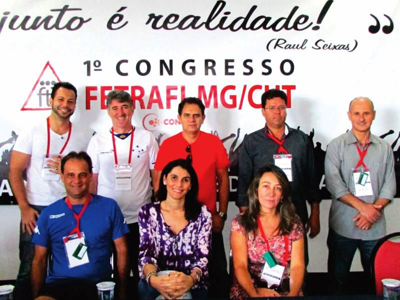 Sindicato participa do 1º Congresso FETRAFI-CUT/MG